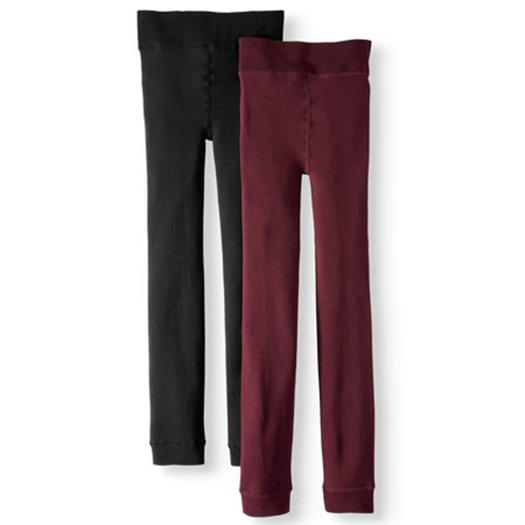 09f64837b4772 Walmart: Time and Tru Women's Cozy Lined Seamless Leggings