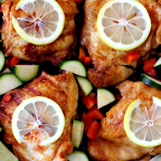 whole 30 recipe for One-Skillet Keto Portuguese-Style Chicken