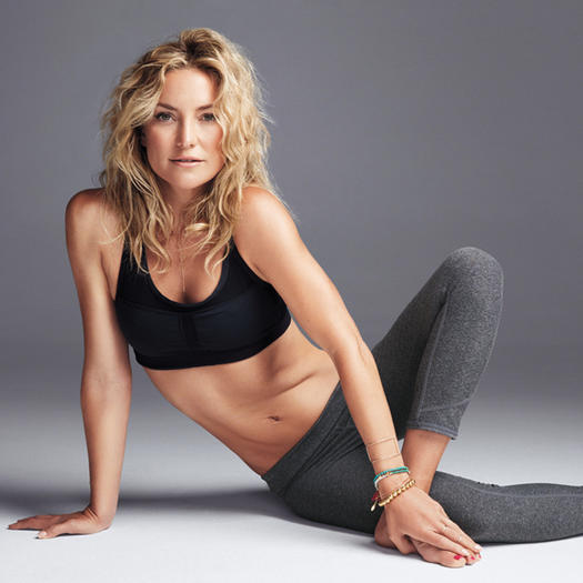 Kate Hudson Workout: 4 Pilates Excercises for Flat Abs and a