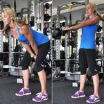Kettlebell swing exercise to lift butt