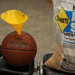 basketball homemade medicine ball