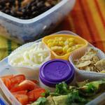 burrito bowl bento box idea