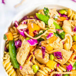Chinese Chicken healthy Pasta Salad recipe