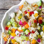 easy healthy Mediterranean diet recipe for israeli chopped salad