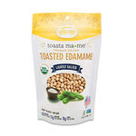 Lightly Salted Eda-Zen Organic Toasted Edamame vegan Snacks