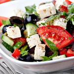 feta cheese lower calorie salad swap