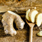 ginger food to help with bloating
