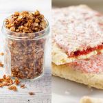 granola vs pop tarts sugar content