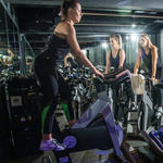 how to stand up in a spin bike