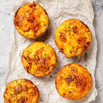Baked egg muffin recipe for meal prep