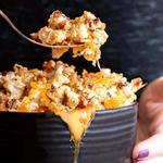 Keto Cauliflower Mac and Cheese recipe for super bowl