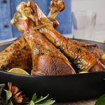 keto thanksgiving recipe turkey legs