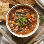 lentils and bean soup foods that help with bloating