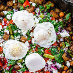 mediterranean diet recipe with eggs