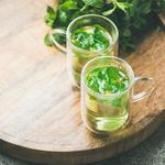mint tea healthy drink