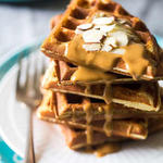 healthy paleo protein waffle recipe single serve