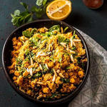 Moroccan Couscous with Chickpeas recipe
