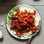 Moroccan Spiced Eggplant and Tomato Stew recipe