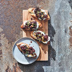 meyer lemon ricotta toast healthy brunch recipe