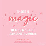 running quote magic in misery