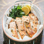 salmon high protein low carb food option