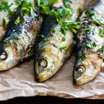 sardines food idea high protein low carb meal