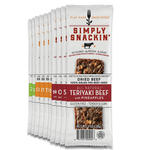simply snackin healthy jerky bars