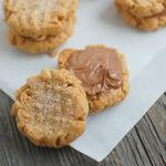 4-Ingredient Peanut Butter healthy holiday Cookies