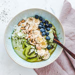 vegan yogurt bowl