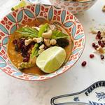 whole 30 recipe Thai Chicken and Broccoli Curry