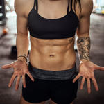 woman with abs doing best obliques exercises