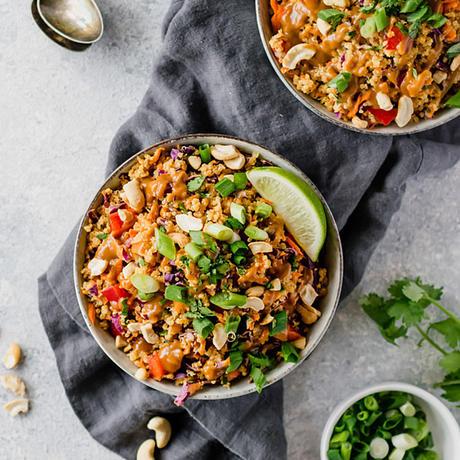healthy quinoa recipe thai