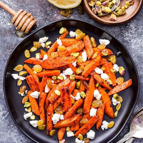 healthy moroccan recipe roasted carrots