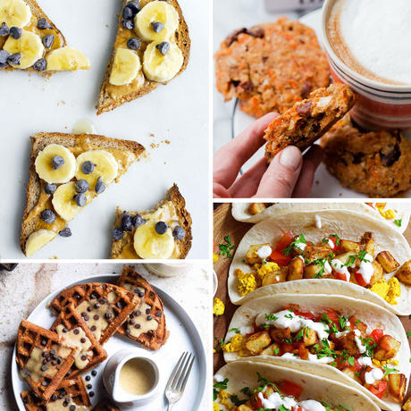 healthy vegan breakfast ideas and recipes