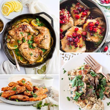 healthy whole 30 chicken recipes
