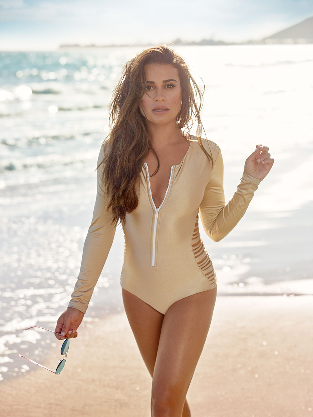 Lea Michele Shares Her Workout Tips in the November Issue ...