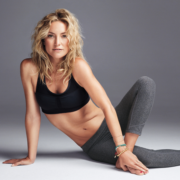 Kate Hudson Workout: 4 Pilates Excercises for Flat Abs and a Tight